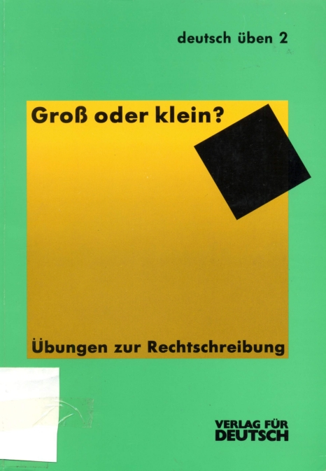 learn deutsch download deutsch ben 2 gross oder klein. Black Bedroom Furniture Sets. Home Design Ideas