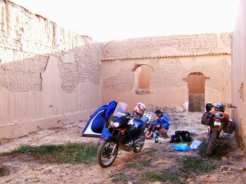 Bajando por Marruecos