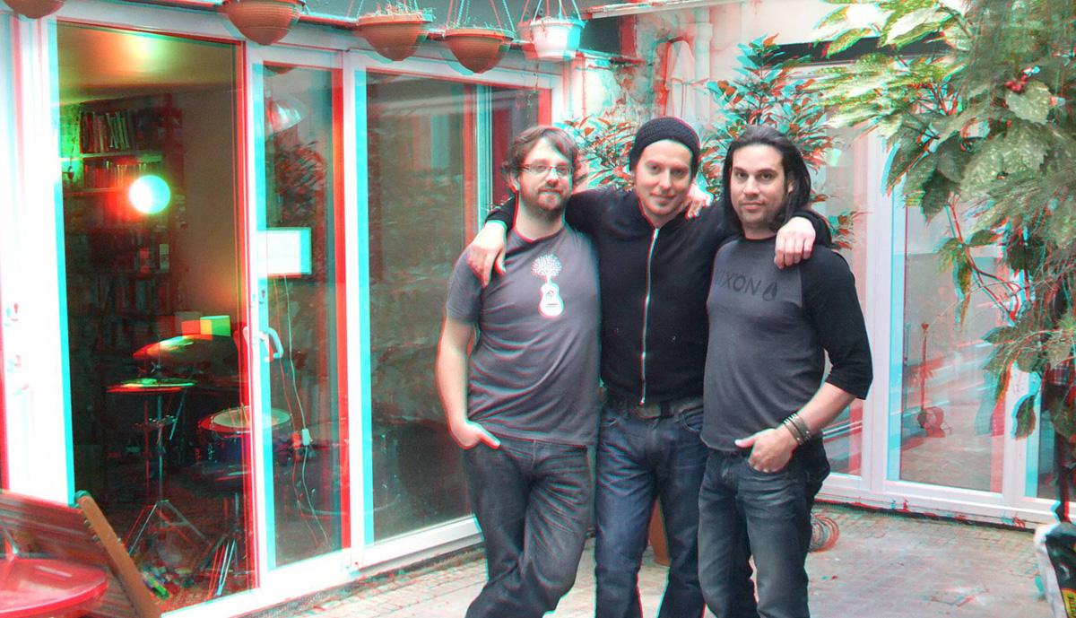 Moran, Thomas et Sylvain en 3D