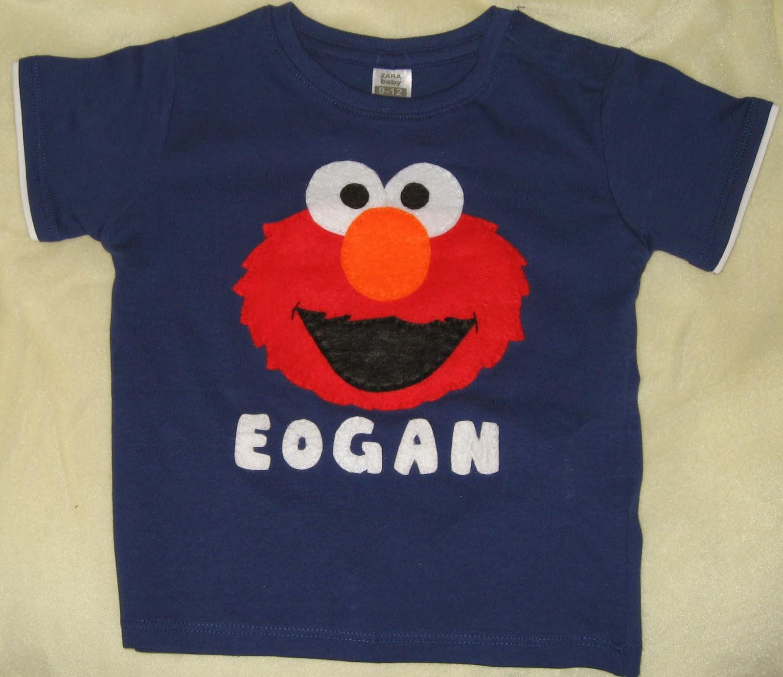LUCKY´S FELT: camiseta de Elmo personalizada
