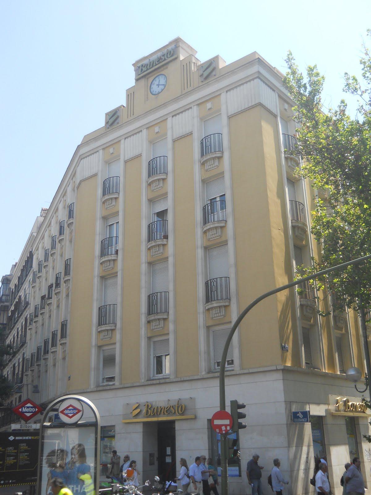 Madrid art dec oficina de banesto for Banesto oficinas