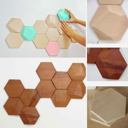 Moduli per decorare le pareti di casa arredamento facile - Pannelli decorativi fonoassorbenti ...