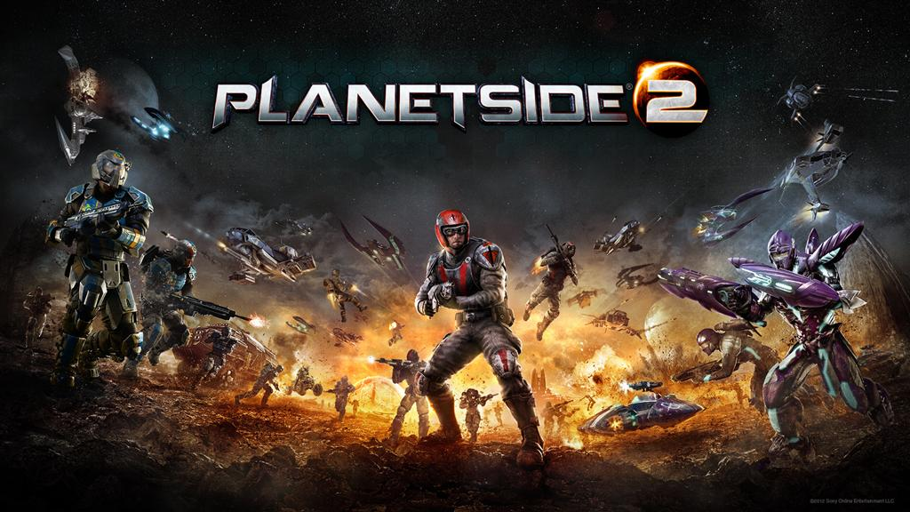 PlanetSide HD & Widescreen Wallpaper 0.459159019849878