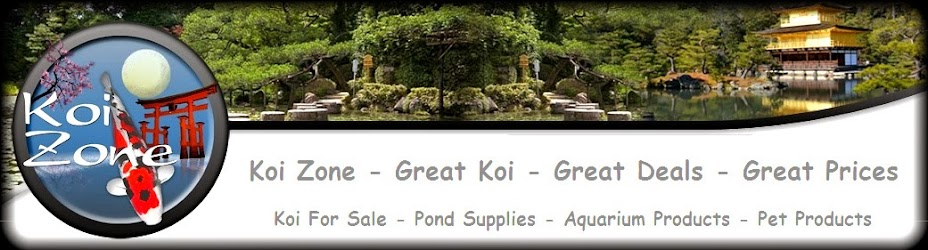 Koi Zone - Japanese Koi And Pond Supplies