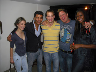 A few Colombian 'friends' with 'Wrong Way'. It turned out at least one of them was anything but...