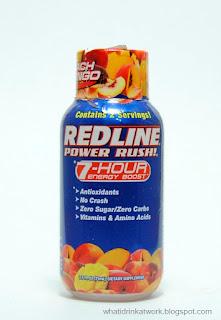 Redline Power Rush Energy Drink Review
