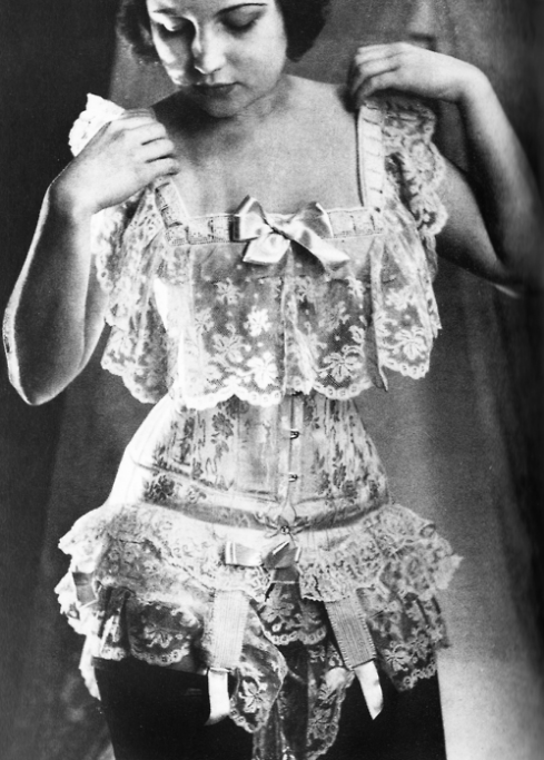Antique Lingerie - Thrills and Frills