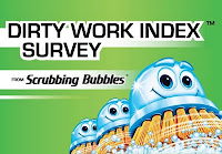 Scrubbing Bubbles Dirty Work Index