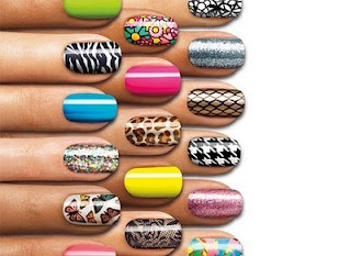 adesivos para unhas decoradas