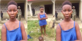 Nawa:See How 17 Year Old Girls From Imo State Caught With Human Head (Photos)