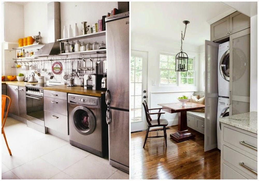 Decotips integrar la zona de lavadero en la cocina for Lavaderos de cocina