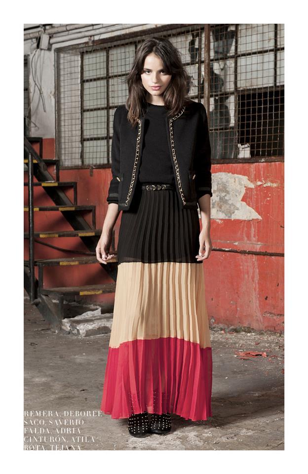 Faldas Largas De Moda 2014