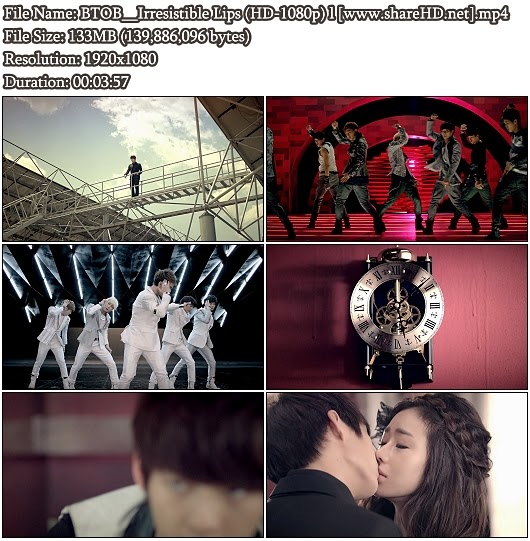 Download MV BTOB - Irresistible Lips (그 입술을 뺏었어) (Full HD 1080p)