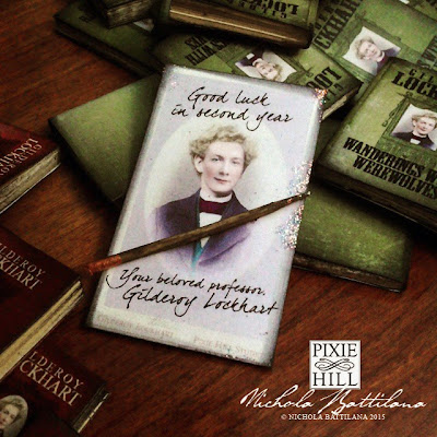 Gilderoy Lockhart Miniature Year 2 Hogwarts Textbooks - Nichola Battilana