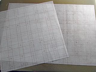 Middle Scrap Grid Interfacing