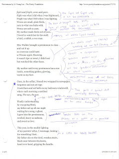 a story li young lee essay