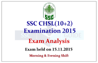 November 15th 2015 Exam Analysis and Expected cutoff