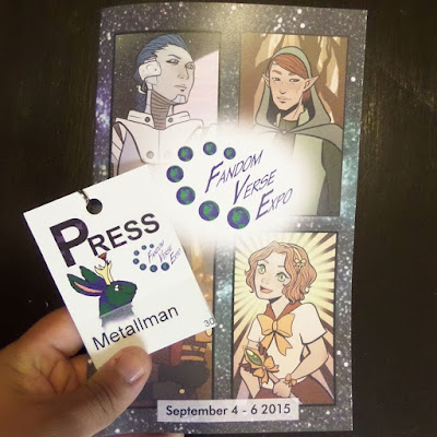 FandomVerse Expo Press Badge