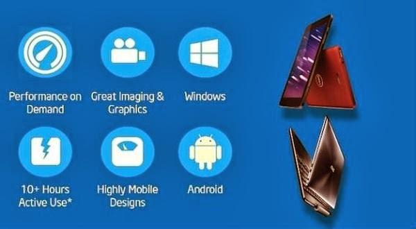 Intel Hadirkan Prosesor 64-bit Buat Perangkat Android
