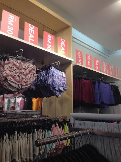 H&M 全马各大分行大减价! 最低只需RM30, 赶快抢购吧!