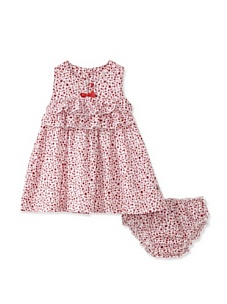 MyHabit: Save Up to 60% off Kanz for Baby Girls: Sleeveless Dress - Lightweight woven with ruffled trim, full button closure on back, coordinating bloomers with elasticized waist and leg