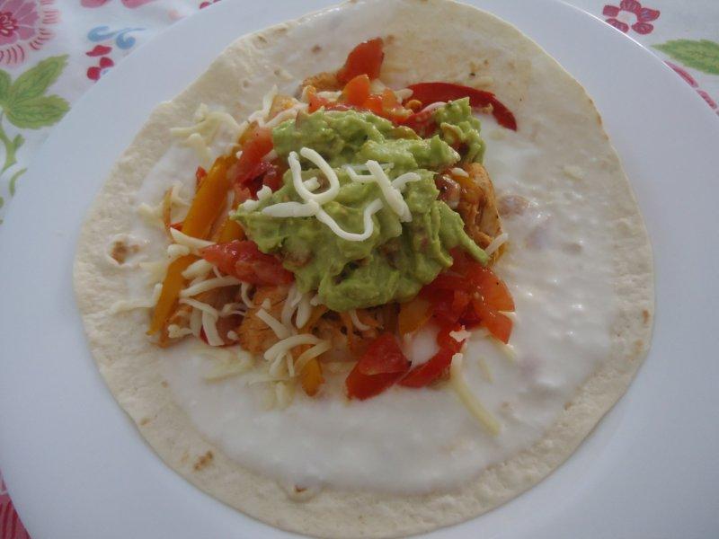 Cocina en familia fajitas de pollo for Canal cocina cocina de familia