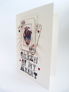 eat me, valentine, king of my heart, edible playing card, edible valentine, queen of hearts