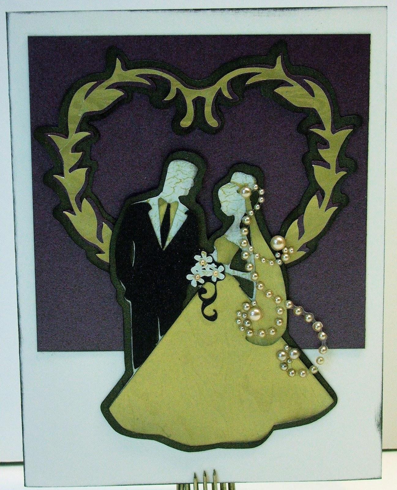 Golden Goddess Designs: Creative Memories Divine Cricut Wedding ...
