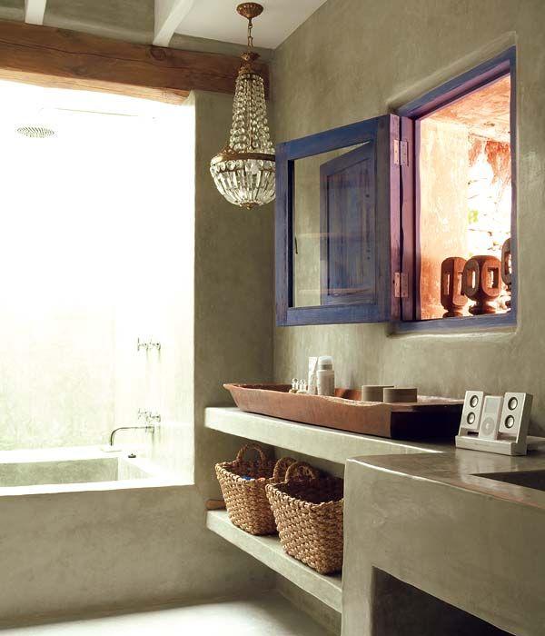 D jate sorprender cemento a la vista 4brujillasymedia Muebles de lavabo de obra