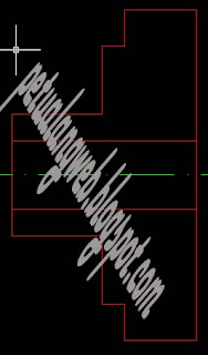 cara membuat gambar tehnik 2d dengan autocad