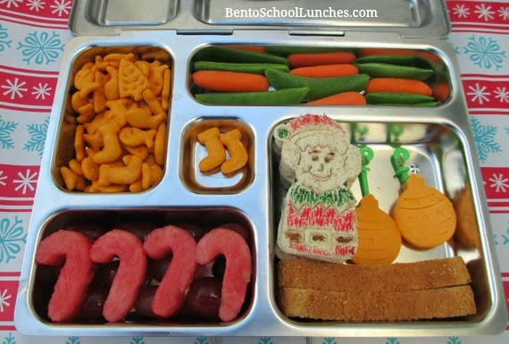 Elf On Shelf, Christmas, Bento School Lunches