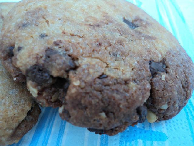 cookies, galletas, chocolate,nueces, desayuno, receta, casera
