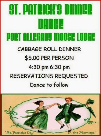 3-15 St. Pat's Dinner & Dance