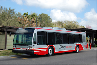 New Walt Disney World bus paint scheme and graphics