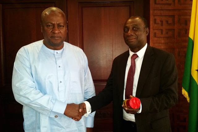 Mahama accepts resignation of Donkor