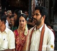 Actress Priyanka Nair tie knot