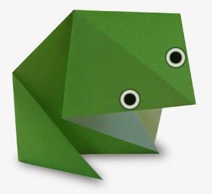 Hướng dẫn cách gấp con Ếch bằng giấy đơn giản - Xếp hình Origami với Video clip