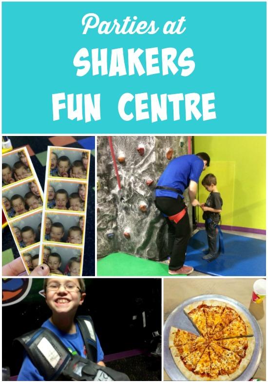 Parties at Shakers Fun Centre in Calgary