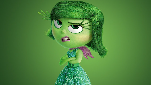 Inside Out disgust five emotions desagrado