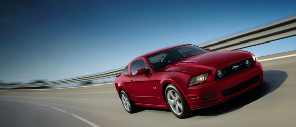 2014 Ford Mustang GT Ruby Red
