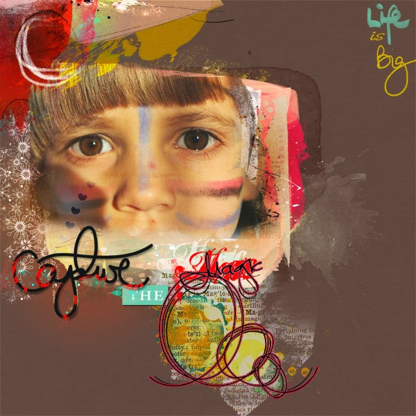 MAGIC Challenge anniversaire oscraps SCRAP DIGITAL CLIN DOEILDESIGN