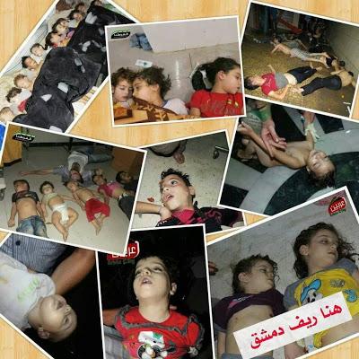 Syria : Video Mati dan Nazak Terkena Gas Saraf