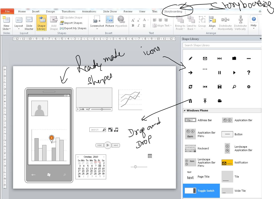 artsmaths powerpoint great prototyping tool
