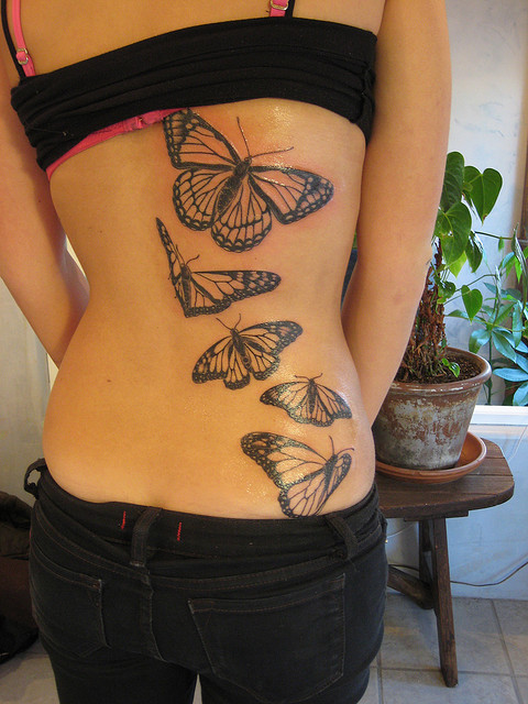 Monarch-Butterfly-Tattoos