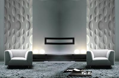 Dise o de interiores con paredes de textura decoracion de dormitorios - Diseno de interiores paredes ...
