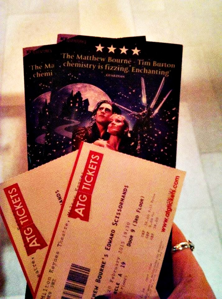 Mathew Bourne Edward Scissorhands Tickets