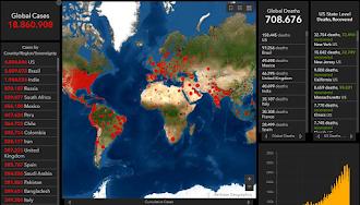 Coronavirus COVID-19 contagi nel mondo