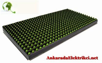 Yeşil Led Panel, Yeşil Led Tabela