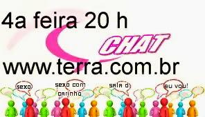 CHAT SEXO 4ª FEIRA AS 20:30HS