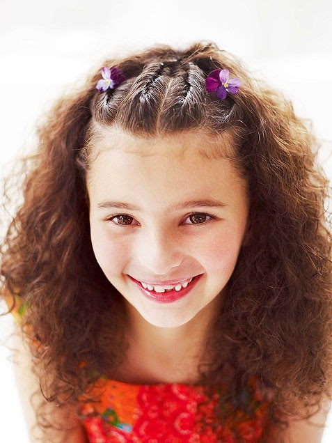 kids hairstyle for short hair